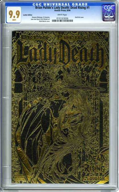 CGC Graded Comics - Brian Pulido's Lady Death: Dead Rising #1 (CGC) - Death - Rising - Forest - Royalty - Swords