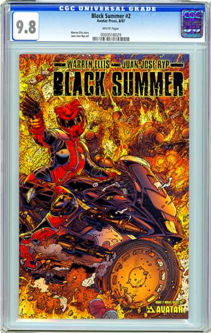 CGC Graded Comics - Black Summer #2 (CGC)