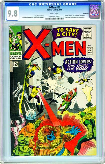 CGC Graded Comics - X-Men #23 (CGC)
