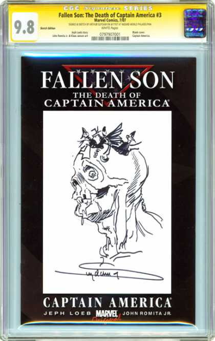 CGC Graded Comics - Fallen Son: The Death of Captain America #3 (CGC) - Captain America - Fallen Son - Death - Marvel Comics - Romita