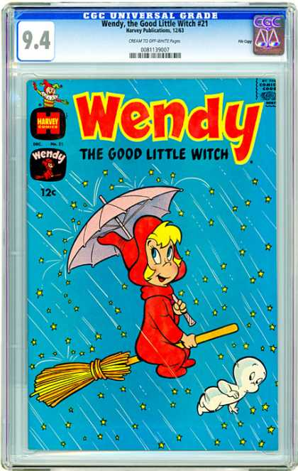 CGC Graded Comics - Wendy, the Good Little Witch #21 (CGC)