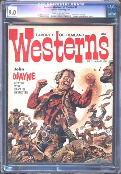 CGC Graded Comics - Favorite Westerns of Filmland #2 (CGC)
