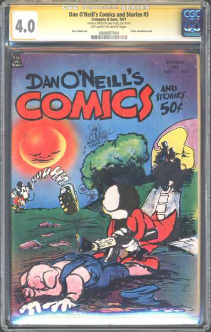 CGC Graded Comics - Dan O'Neill's Comics and Stories #3 (CGC)