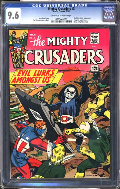 CGC Graded Comics - Mighty Crusaders #3 (CGC)