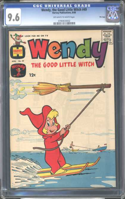 CGC Graded Comics - Wendy, the Good Little Witch #49 (CGC)
