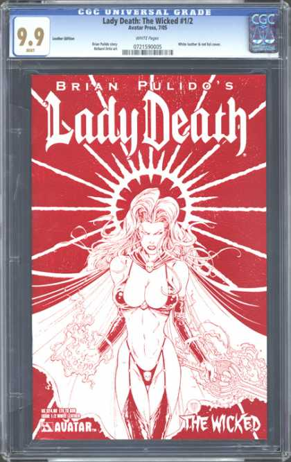 CGC Graded Comics - Lady Death: The Wicked #1/2 (CGC)