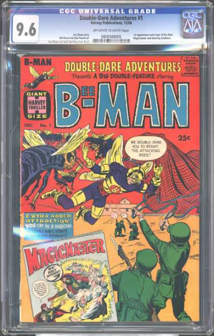 CGC Graded Comics - Double-Dare Adventures #1 (CGC)