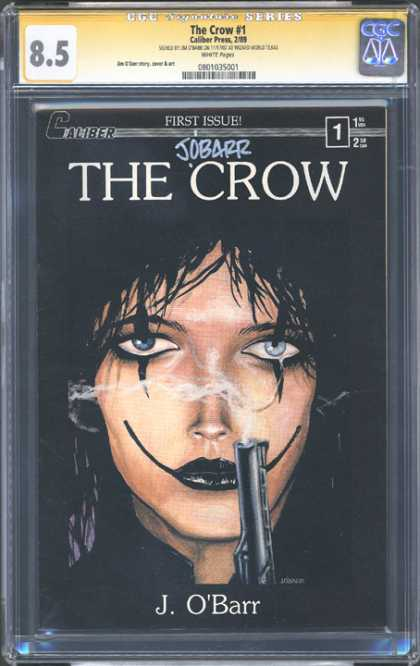 CGC Graded Comics - The Crow #1 (CGC) - The Crow - First Issue - J Obarr - Gun - Woman