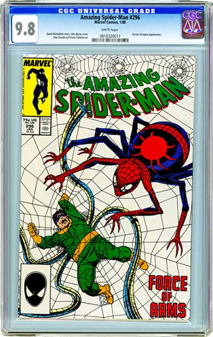 CGC Graded Comics - Amazing Spider-Man #296 (CGC)