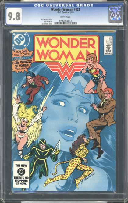 CGC Graded Comics - Wonder Woman #323 (CGC)