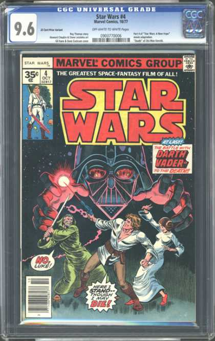 CGC Graded Comics - Star Wars #4 (CGC)