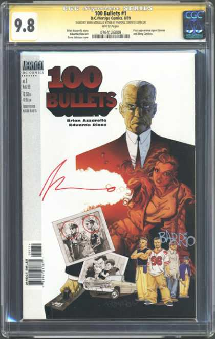 CGC Graded Comics - 100 Bullets #1 (CGC)