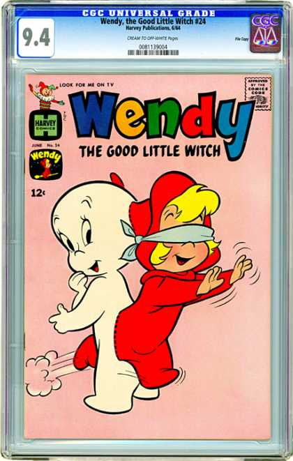CGC Graded Comics - Wendy, the Good Little Witch #24 (CGC)