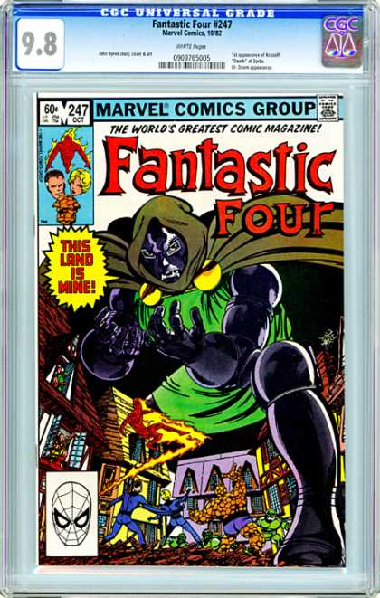 CGC Graded Comics - Fantastic Four #247 (CGC)