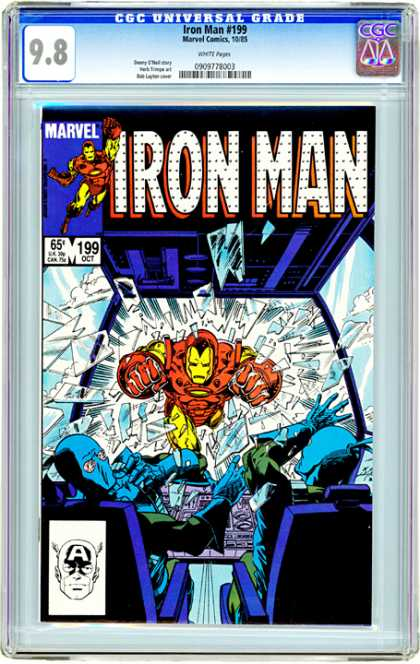 CGC Graded Comics - Iron Man #199 (CGC)