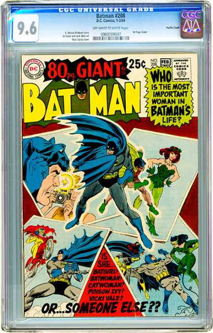 CGC Graded Comics - Batman #208 (CGC)