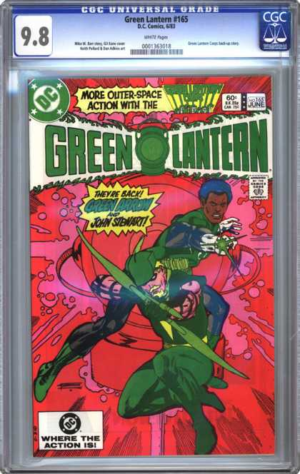 CGC Graded Comics - Green Lantern #165 (CGC)