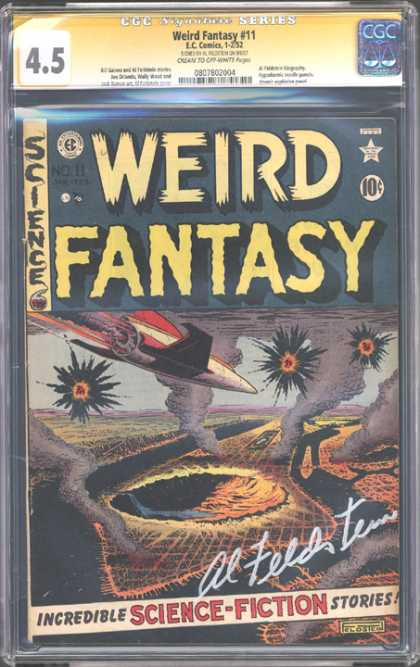 CGC Graded Comics - Weird Fantasy #11 (CGC)