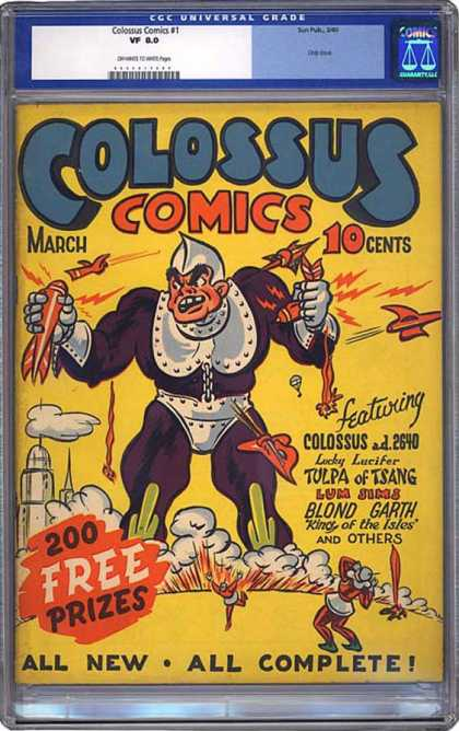CGC Graded Comics - Colossus Comics #1 (CGC)