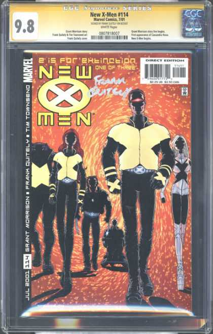 CGC Graded Comics - New X-Men #114 (CGC) - Cgc - Marvel Comics - Marvel - New X-men - Extinction