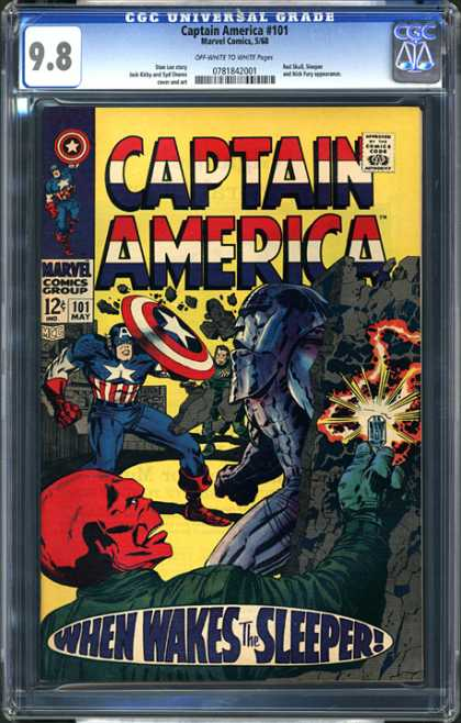 CGC Graded Comics - Captain America #101 (CGC)