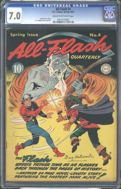 CGC Graded Comics - All-Flash #4 (CGC)