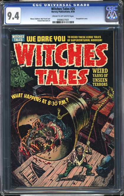 CGC Graded Comics - Witches Tales #25 (CGC)