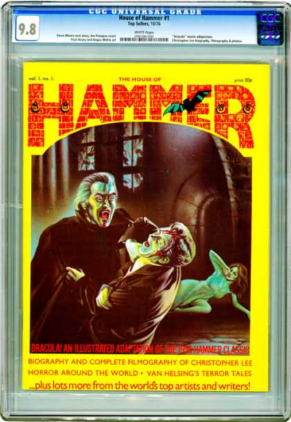 CGC Graded Comics - House of Hammer #1 (CGC)