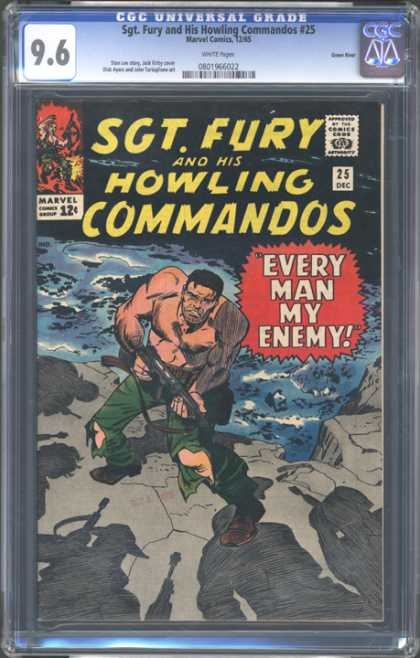 CGC Graded Comics - Sgt. Fury and His Howling Commandos #25 (CGC)