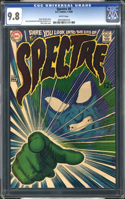 CGC Graded Comics - Spectre #8 (CGC) - Spectre - Dc Comics - Approved By The Comics Code Authority - Superman - National Comics