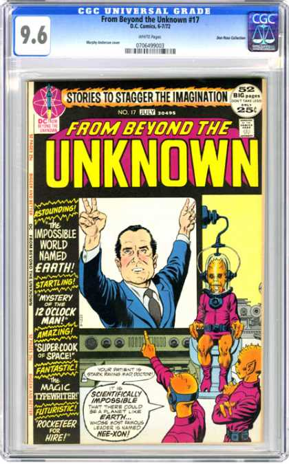 CGC Graded Comics - From Beyond the Unknown #17 (CGC)