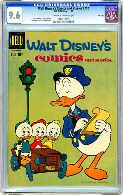 CGC Graded Comics - Walt Disney's Comics and Stories #242 (CGC)