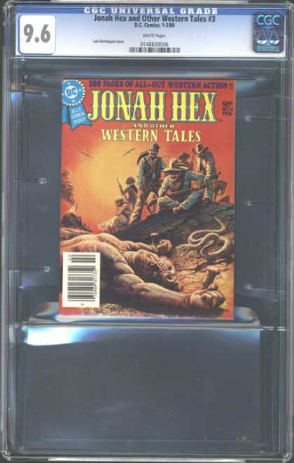 CGC Graded Comics - Jonah Hex and Other Western Tales #3 (CGC) - Jonah Hex - Western Tales - Dc - 3 - Western