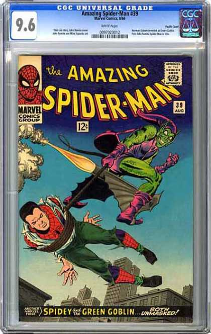 CGC Graded Comics - Amazing Spider-Man #39 (CGC)