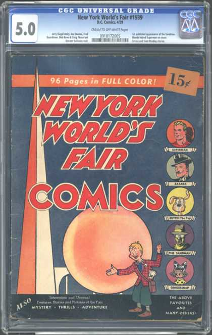 CGC Graded Comics - New York World's Fair #1939 (CGC)