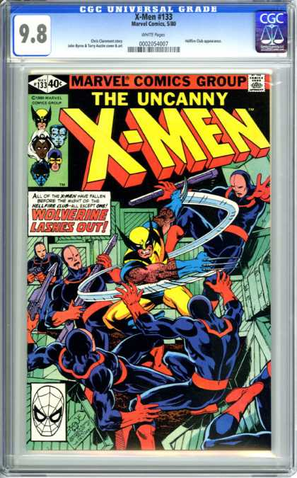 CGC Graded Comics - X-Men #133 (CGC)