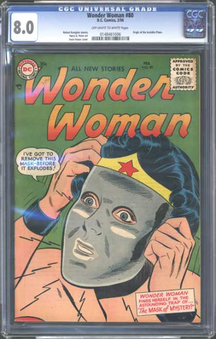 CGC Graded Comics - Wonder Woman #80 (CGC)