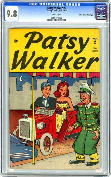 CGC Graded Comics - Patsy Walker #2 (CGC)