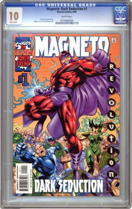 CGC Graded Comics - Magneto: Dark Deduction #1 (CGC) - Marvel - Marvel Comics - Magneto - Dark Seduction - X-men
