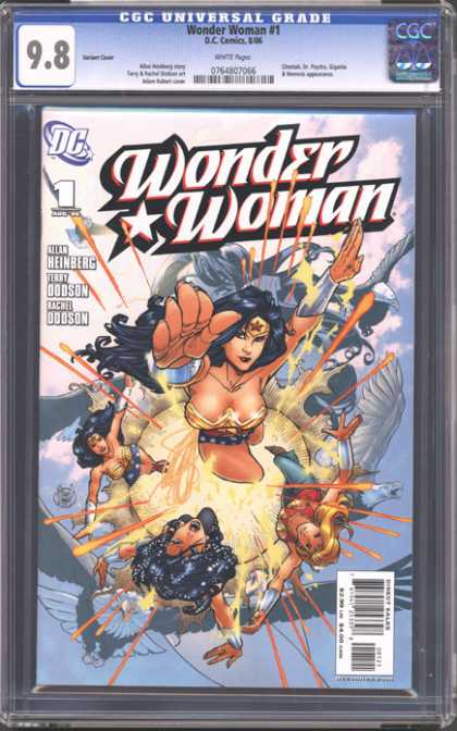CGC Graded Comics - Wonder Woman #1 (CGC)