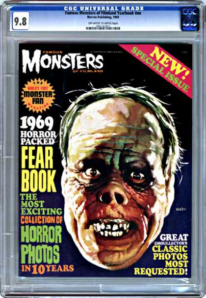 CGC Graded Comics - Famous Monsters of Filmland Yearbook #nn (CGC) - Cgc - Monsters - Horror - Fear - Thriller