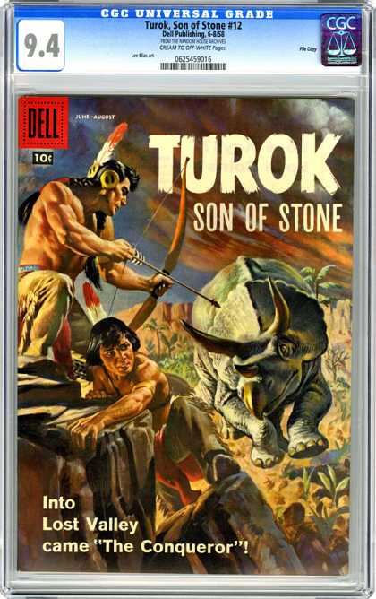 CGC Graded Comics - Turok, Son of Stone #12 (CGC)