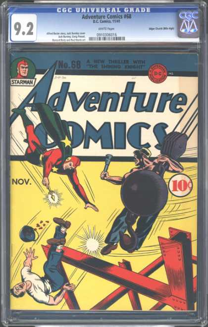 CGC Graded Comics - Adventure Comics #68 (CGC)