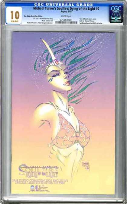 CGC Graded Comics - Michael Turner's Soulfire: Dying of the Light #0 (CGC)