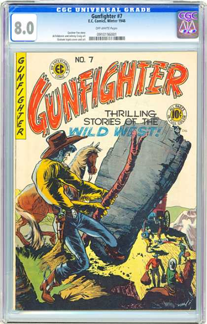 CGC Graded Comics - Gunfighter #7 (CGC)
