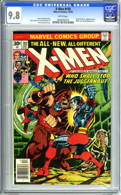 CGC Graded Comics - X-Men #102 (CGC)