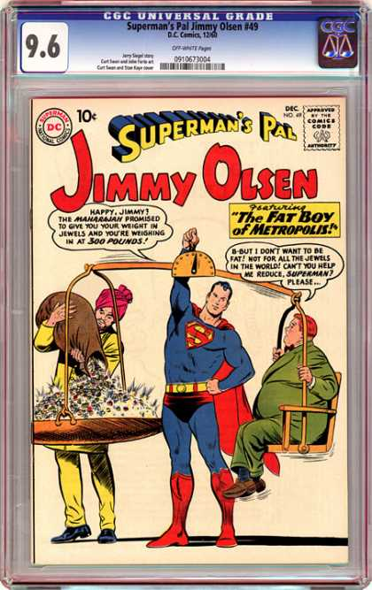 CGC Graded Comics - Superman's Pal Jimmy Olsen #49 (CGC)