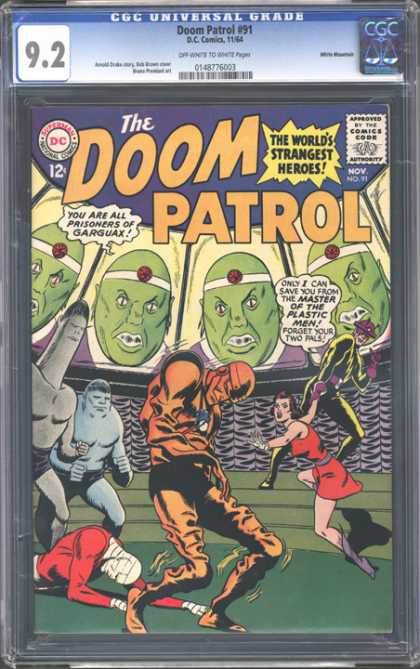CGC Graded Comics - Doom Patrol #91 (CGC)
