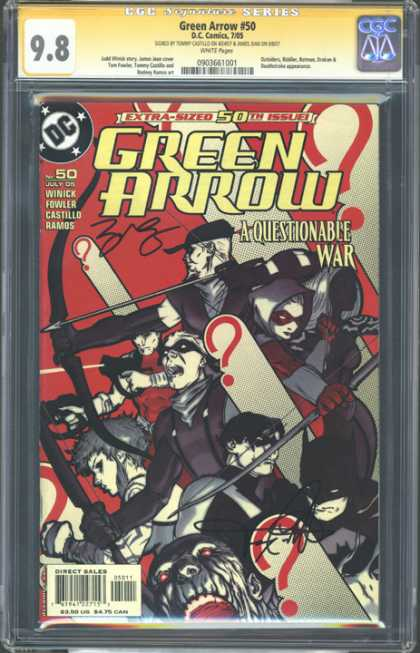 CGC Graded Comics - Green Arrow #50 (CGC)
