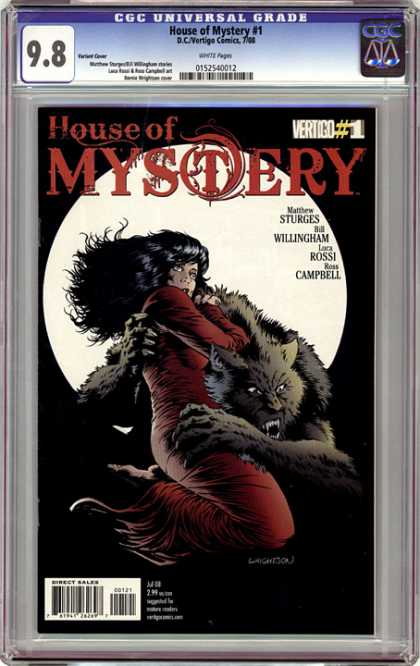 CGC Graded Comics - House of Mystery #1 (CGC)